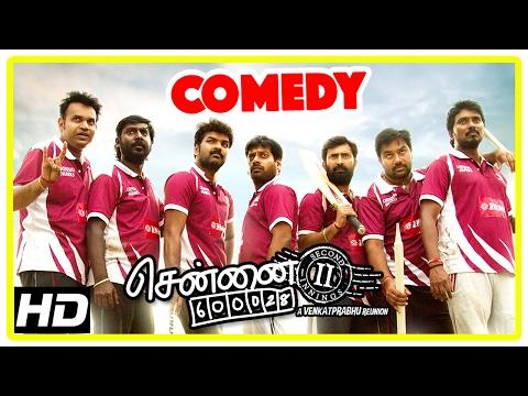 Chennai 600028 II Movie | Comedy Part 3 | Shiva | Jai | Premji | Aravind | Vaibhav | Mahat