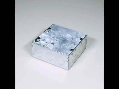 5x5, 8M S&G Wall GI Metal Modular Box