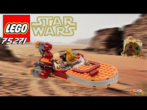 Vidéo LEGO Star Wars 75271 : Le Landspeeder de Luke Skywalker