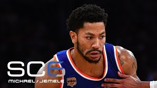 Derrick Rose Means More To Lakers' Process Than Cavaliers | SC6 | ESPN