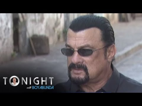 TWBA: Steven Seagal shoots his new film in the Philippines