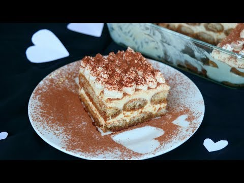 তিরামিসু – ইটালিয়ান ডেজার্ট | Easy Tiramisu Recipe | Italian Tiramisu Recipe | How to Make Tiramisu