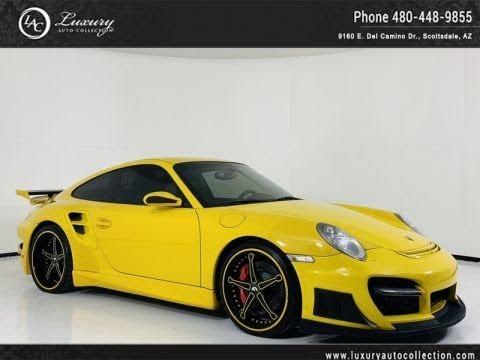 Pre-Owned 2008 Porsche 911 Turbo Coupe