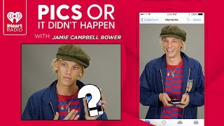 Jamie Campbell Bower Shows Off Personal Photos From His Phone! | Pics Or It Didnt Happen