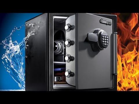 Extra Large Water/Fire Resistant Digital Safe 60 Second Video
