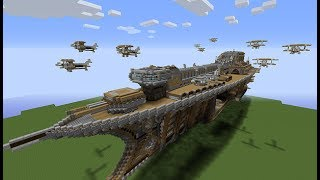 Minecraft Yapı MOD SAVAŞ DONAN MASI