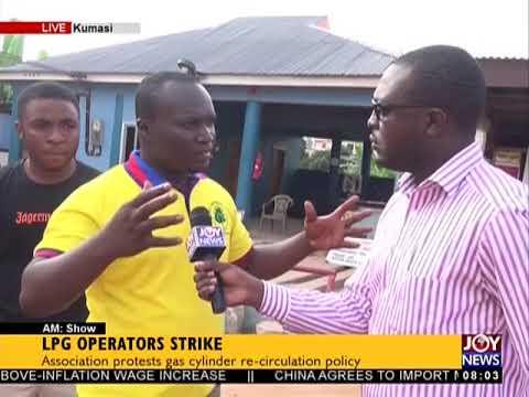 LPG Operators Strike - AM Show on JoyNews (21-5-18)