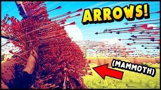 TABS - 1,000,000 Arrows vs Mammoth - Don't Call PETA! - Totally Accurate Battle Simulator