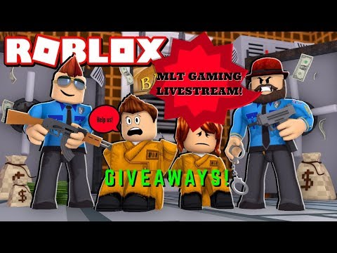 🔴Roblox Jailbreak GIVEAWAYS  Live Stream with subs HD🔴