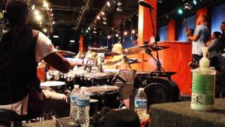 (Part 4)Garrison Brown on drums & City of Refuge band playing for Deon Kipping