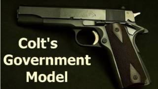 Colt's Government Model 45 ACP 1911 Pistol