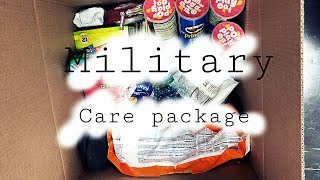 MILITARY CARE PACKAGE FOR HUSBAND!