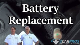Battery Replacement Saturn Vue 2002-2007