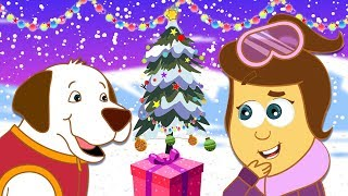 The Adventures Of Annie And Ben: Christmas Snow Fun | Funny Cartoons For Kids by HooplaKidz