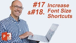 How to Increase (Decrease) Font Sizes in PowerPoint (Keyboard Shortcuts)