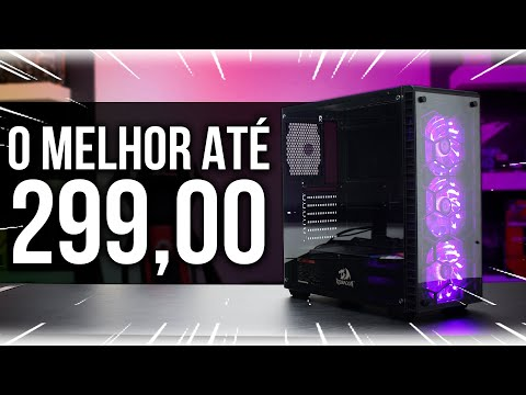O MELHOR GABINETE ATÉ 299,00 | Redragon DIAMOND STORM