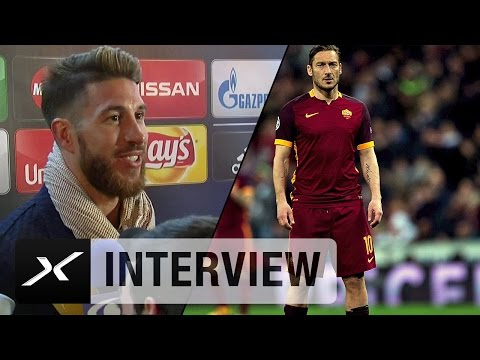 "Sergio Ramos: ""Habe Francesco Totti schon als Kind gemocht"" 