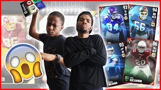 THE HIGH STAKES ELITE PACK WAGER! - MUT Wars Ep.91 | Madden 17 Ultimate Team