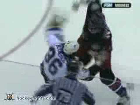 Jody Shelley vs Jesse Boulerice