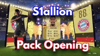 Live Fifa launch 18 pack opening