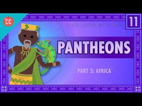 Africké panteony - Světová mytologie