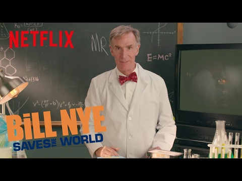 Bill Nye Saves the World Opening | Digital Exclusive | Netflix