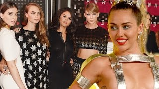 Miley Cyrus Throws Shade At Taylor Swift's Squad