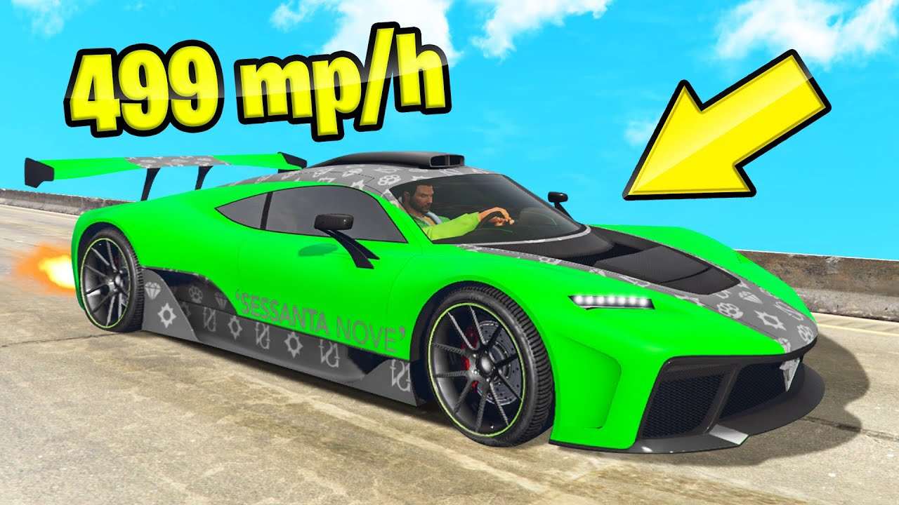 Download *NEW* 499MPH TOP SPEED CAR In GTA 5! (DLC