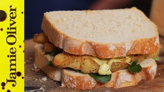 Southern Fried Fish Finger Sandwich | Aaron Craze