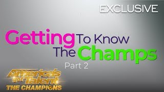 Getting To Know The AGT Champions! Part 2 - America