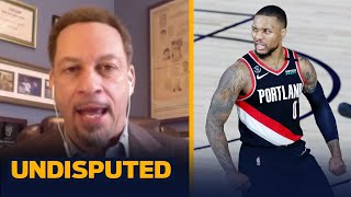 As good as Damian Lillard is, Portland won't win title against LeBron & AD — Broussard | UNDISPUTED