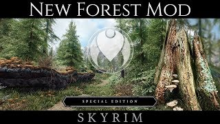 NEW FOREST MOD AND TEXTURES   Skyrim SE Ultra ENB Graphics
