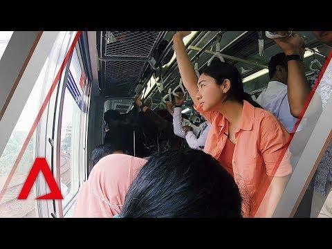 A typical 2.5-hour commute on Jakarta's public transport