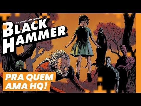 BLACK HAMMER, uma carta de amor aos super-heróis!   CLUBE DE LEITURA MIKANNN #05