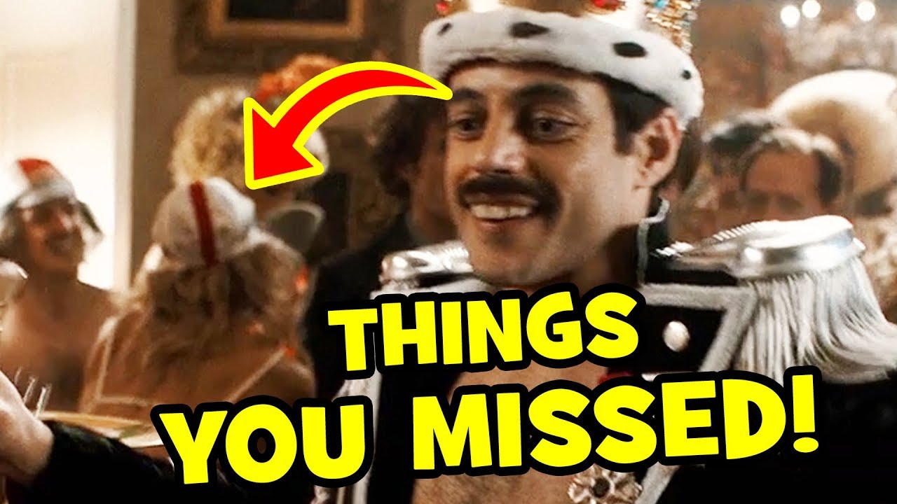 5 CRAZY LITTLE DETAILS You Missed In Bohemian Rhapsody