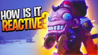 How Is The BOBO Backbling Reactive?  (How Is It Reactive - Bobo Backbling)