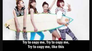 2NE1 - Try To Be Like Me [Eng. Sub]