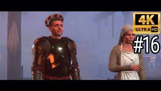 Kingdom Come Deliverance 4K Gameplay Walkthrough Part 16 ULTRA HD
