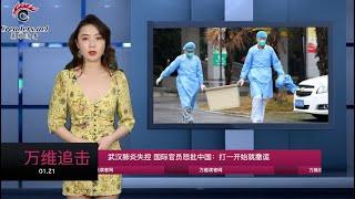 武汉肺炎失控 国际官员怒批中国:打一开始就撒谎 (《万维追击》20200121-01 S2TXC)