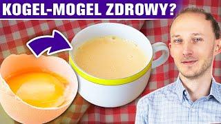 Kogel-mogel i SUROWE JAJKA: czy zdrowe? Jedzenie jajek na surowo a Salmonella | Dr Bartek Kulczyński