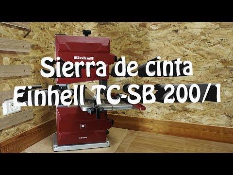 Sierra de cinta Einhell TC-SB 200/1