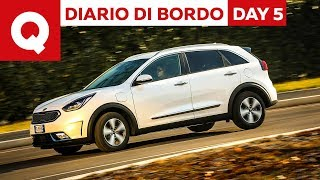 Kia Niro Hybrid Plug-In: come si guida? - Diario di Bordo: Day 5