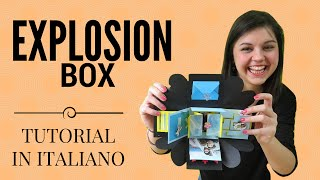 Come Fare Una EXPLOSION BOX - Tutorial In Italiano (ENG SUB)