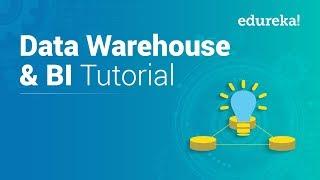 Data Warehouse Tutorial For Beginners | Data Warehouse Concepts | Data Warehousing | Edureka