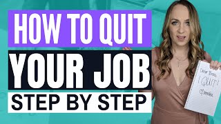 HOW DO I QUIT MY JOB? How to quit your job respectfully and professionally in 2020