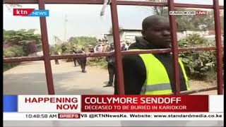 Bob Collymore's cremation at Kariokor