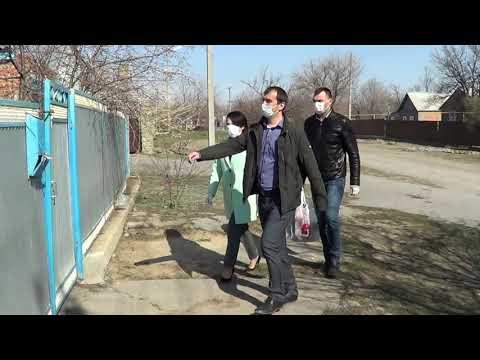 Глава Администрации Милютинского района О.Р.Писаренко присоединилась к волонтёрскому движению.