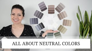 NEUTRAL COLORS FOR LIVING ROOM...AND BEDROOM...AND THE WHOLE HOUSE | Color Theory 101