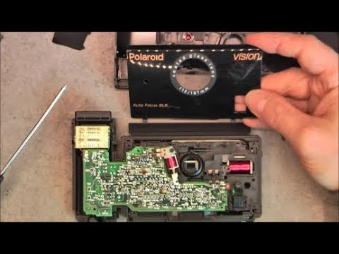 Polaroid Vision SLR camera teardown