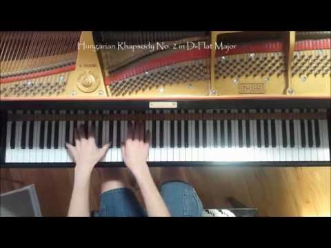 Some improvisation with music by Franz Liszt.